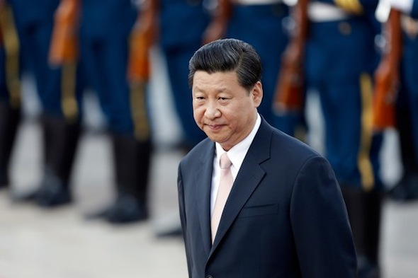 Internal warnings show that President Xi Jinping fears that the Communist Party is vulnerable to public anger about corruption and challenges from liberals impatient for political change. (Jason Lee/Reuters)