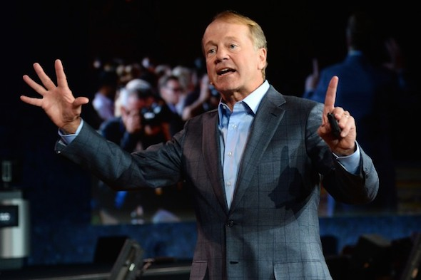 Cisco Systems Inc. Chairman and CEO John Chambers in Las Vegas on Jan. 7, 2014. (Ethan Miller/Getty Images)