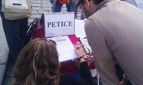 People sign petition calling for an immediate end to the persecution.