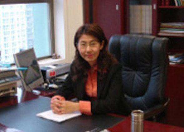Beijing-based lawyer Wang Yu in an undated photo. Photo courtesy of Wang Yu's microblog
