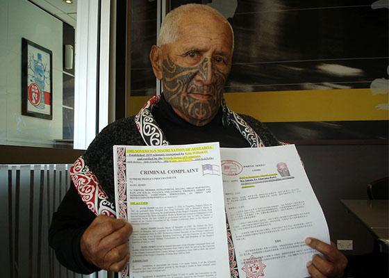 Maori Chief Amato Akarana Sues Jiang Zemin