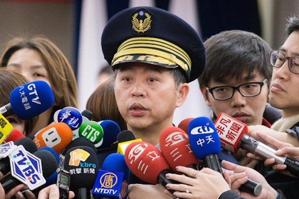 Wu Jing-tian, the new police chief, promised to restore order in the Xinyi District, which includes the Taipei mayor's office, the city government, and Taipei 101.