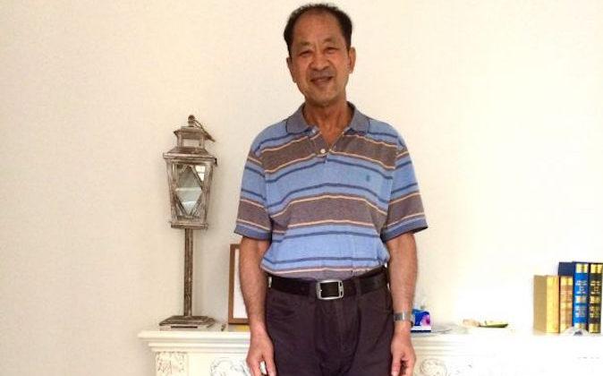 Falun Gong practitioner Wang Zhiwen in a recent photo. (Courtesy of Danielle Wang)