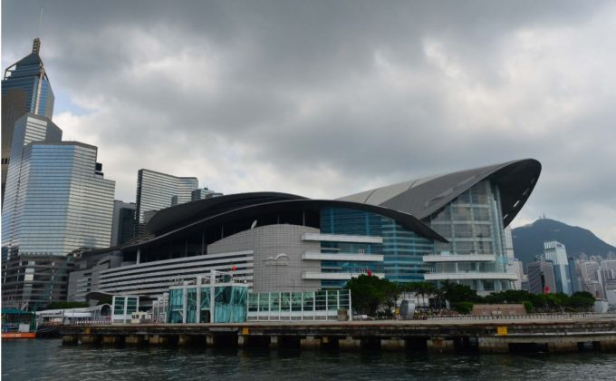 The Hong Kong Convention and Exhibition Centre will host The Transplantation Society's 2016 conference, where the claimed reforms to China's organ transplantation system will be given top billing. (Bill Cox/Epoch Times)
