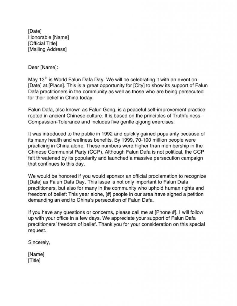 Sample Letter Asking For Help from fofg.org