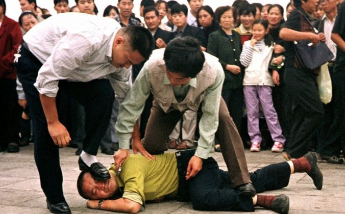 China wavers on persecution of Falun Gong